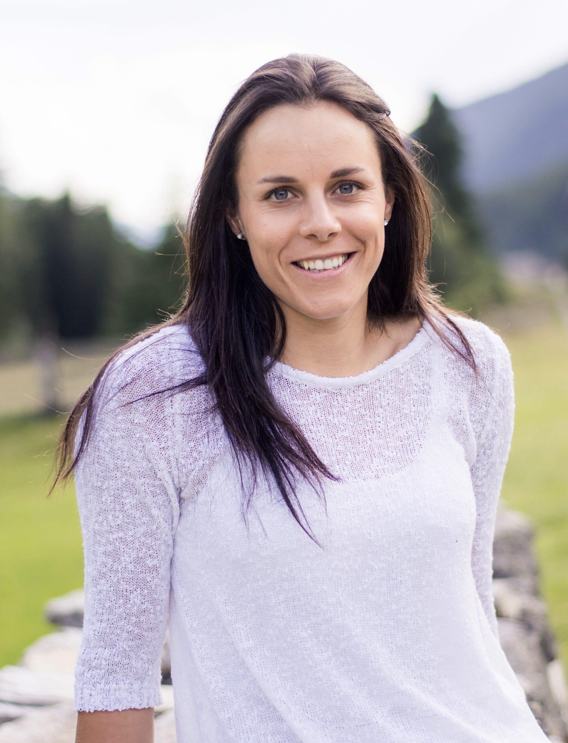 Foto von Anna Hofer - Ski-Rennläuferin aus dem Ahrntal / Südtirol